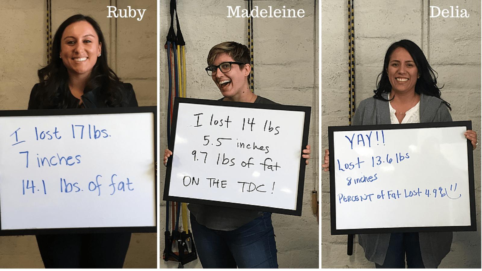 TDC Tryptich (Ruby, Madeleine, Delia)